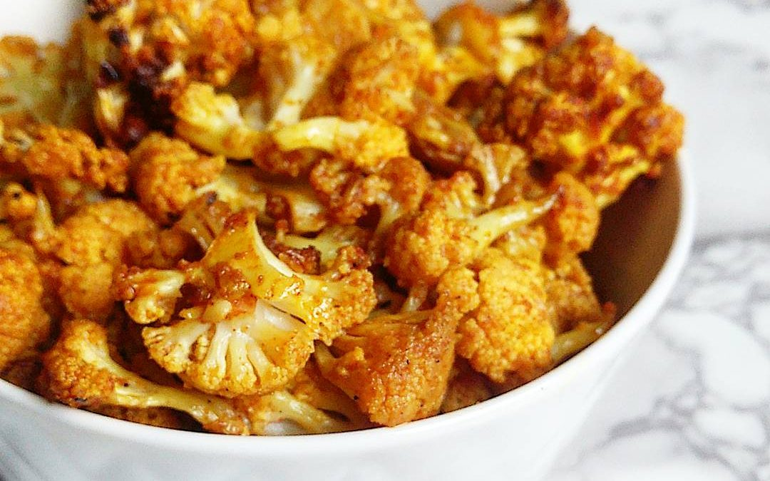 Roasted Tumeric Cauliflower