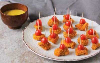 Baked Chicken Nugget Poppers