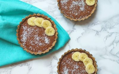 Chocolate Banana Tartlets