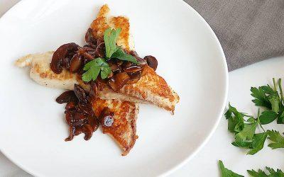 Teriyaki Mushroom Tilapia