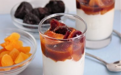 Dried Fruit Compote Topping