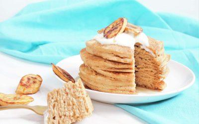 Fluffiest Vegan Pancakes