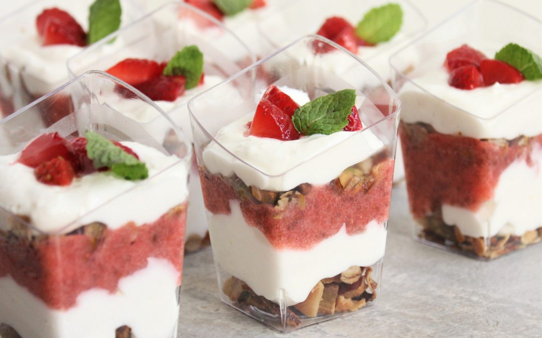 Healthy Cheesecake Parfaits
