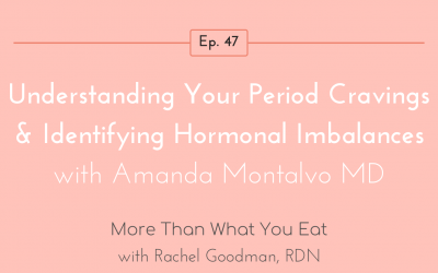 Ep 47 Understanding Your Period Cravings & Identifying Hormonal Imbalances with Amanda Montalvo RD